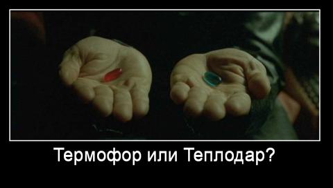 Что лучше: Теплофор или Термодар?
