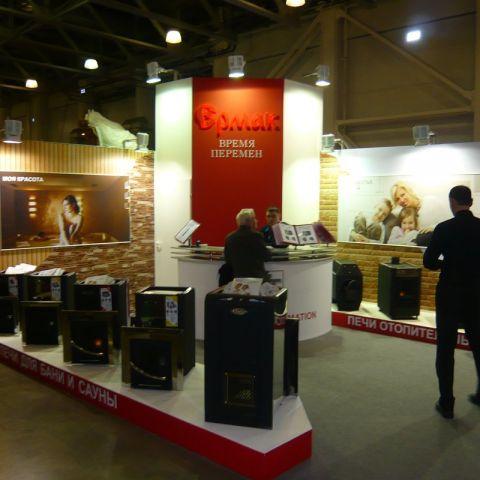 Ермак на Салоне Каминов 2013 : новая банная печь и общий рестайлинг