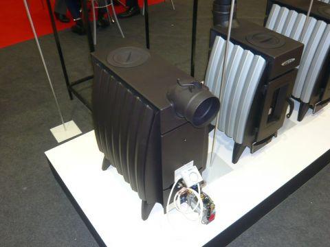 Новинка от Термофора: отопительная печь Огонь-Батарея Гибрид (на газу и на дровах)