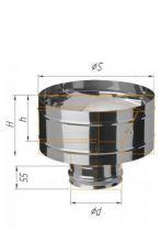 Зонт-К с ветрозащитой (430/0,5 мм) Ф115